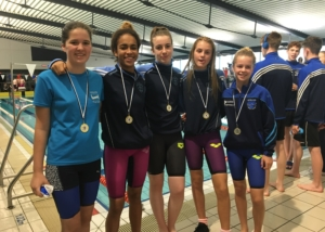 Bower Swimmers Shine at Connacht Championships