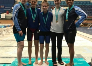 Double Gold for Bower Swim Team