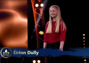 Éirinn Reaches Oireachtas na Samhna Live Show