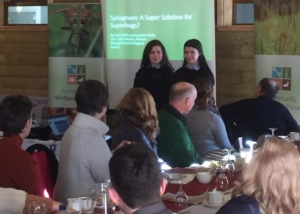 Kate and Isabelle Address the Community Wetlands Forum