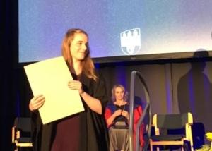 Clodagh Receives UCD Ad Astra Scholarship