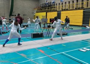 Isabelle Sees Success on Fencing Piste