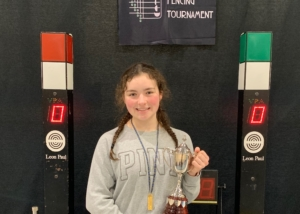 Isabelle Wins at the Glasgow Open