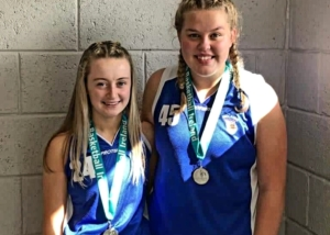 Faith & Hannah Represent Midlands at BIPPS Tournament