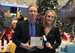 Rachel Awarded DCU Scholarship for Excellence