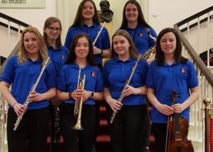 Bower Girls Perform at 25th Festival of Youth Orchestras