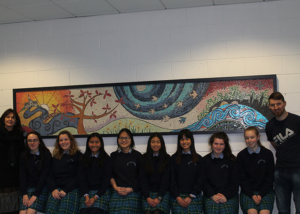 Arts Week Mosaic Gets Pride of Place