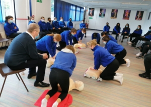 First Aid Training for TYs