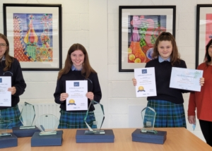 Bower Girls Take Top Awards at Scifest@College 2021